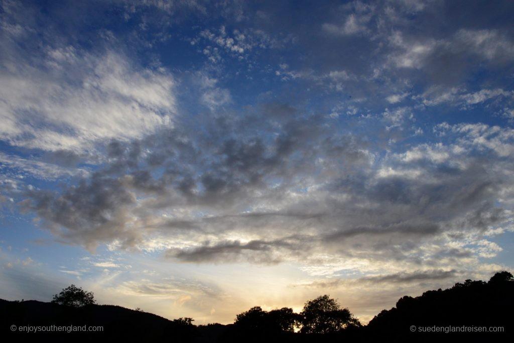 Vielversprechendes Wetter für den Highland Evening