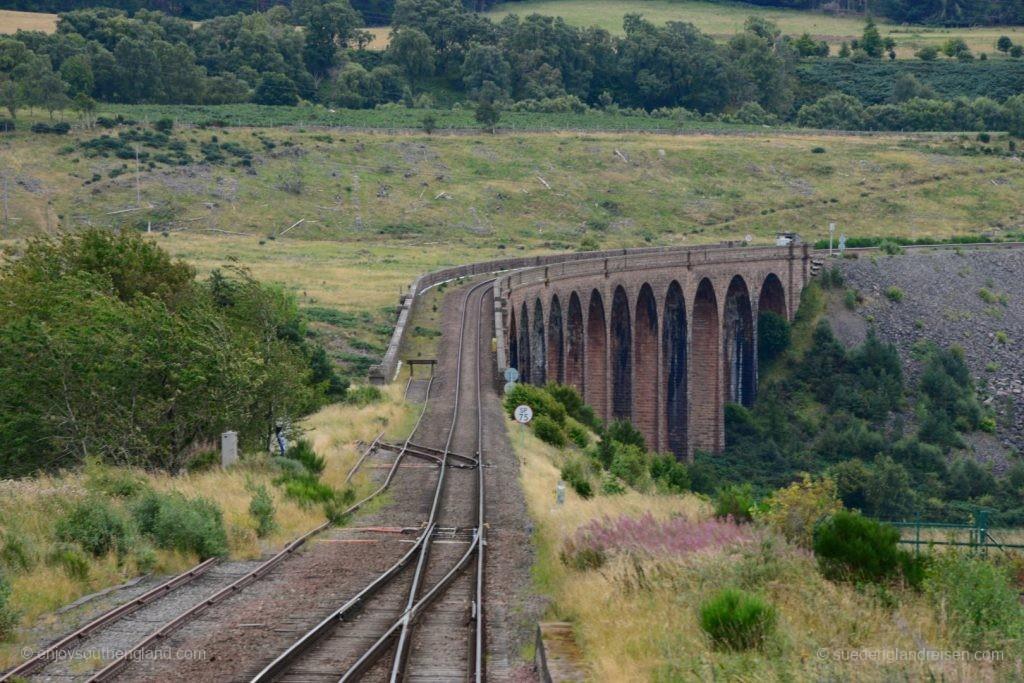 Der Culloden Viaduct östlich von Inverness