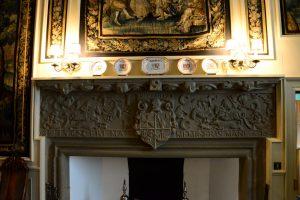 Kamindetails in Cawdor Castle