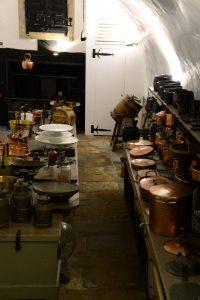 Die alte Küche in Cawdor Castle