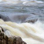 Stromschnellen am Findhorn River
