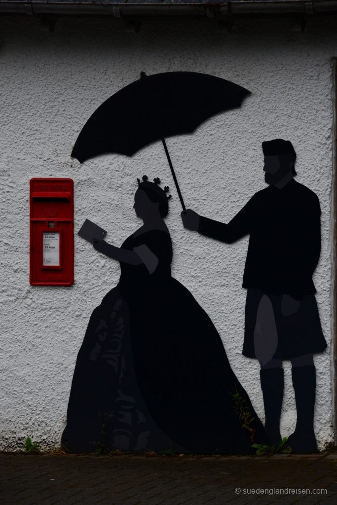 Queen Victoria und ihr Briefkasten
