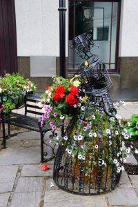 Die Blumenfrau von Pitlochry