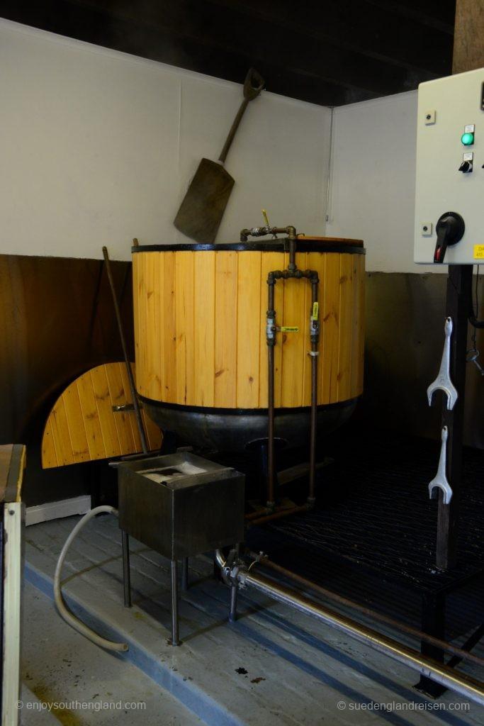In der Micro-Brewery von Moulin