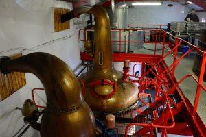 Das sind die kleinsten in Schottland gesetzlich zugelassenen Apparaturen zur Whisky-Destillation!