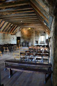 Der beeindruckende ausgebaute Dachboden im Castle Menzies