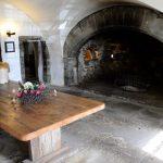 Alter Kamin im Castle Menzies