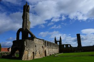 Ruine der St. Andrews Cathedral
