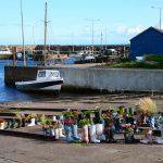 """""""Wellie Boot Garden"""" in St. Monans - ein Garten aus Gummistiefeln"""