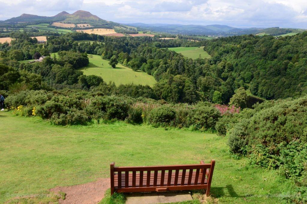 Scott's View - der Lieblingsplatz von Sir Walter Scott