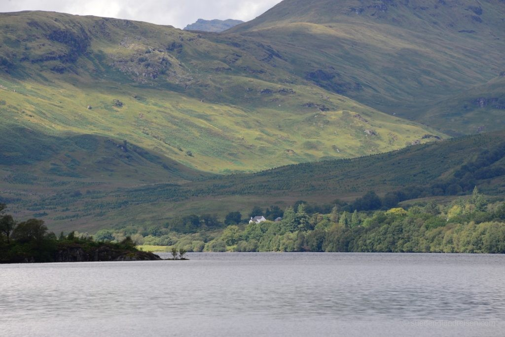 Loch Katrine im Loch Lomond & The Trossachs National Park
