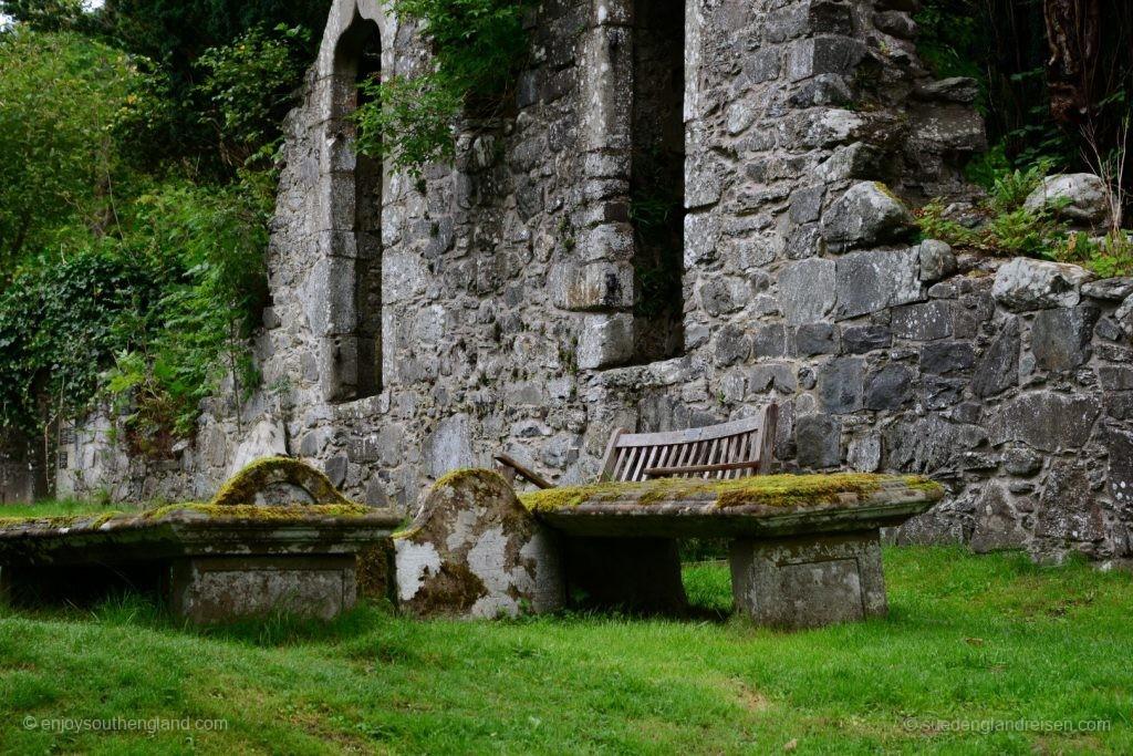 Die Reste der Old Kirk (ja, hier verwendet man den skandinavischen Namen statt Church) von Balquhidder