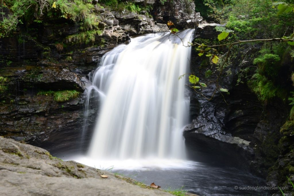 "Die ""Falls of Falloch"" im Loch Lomond and the Trossachs National Park"