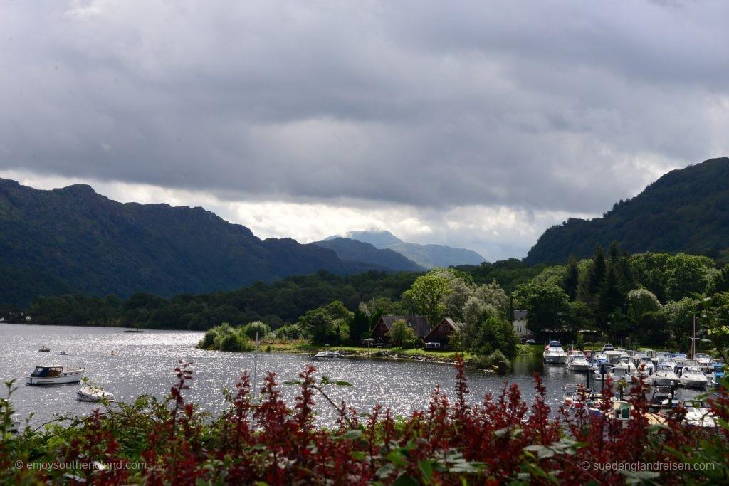 Am nördlichen Ende vom Loch Lomond
