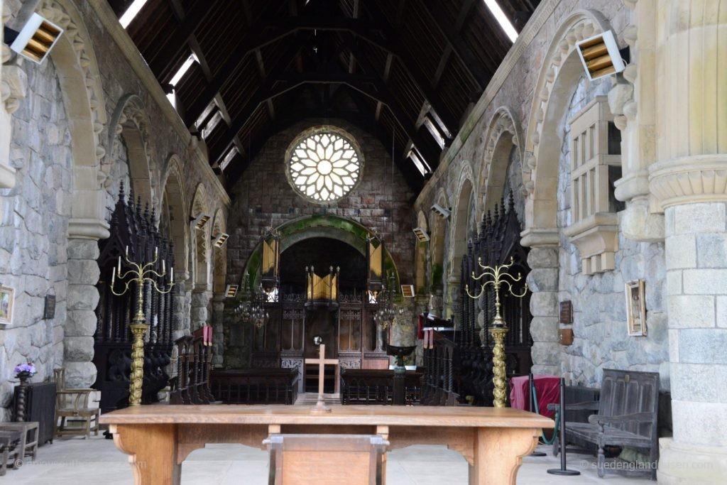 Saint Conan's Kirk am Loch Awe - ein ziemlich interessantes Bauwerk mit seinen extremen Stilmischungen