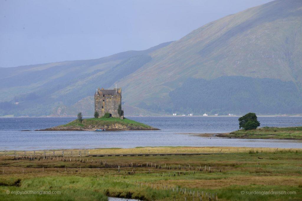 Castle Stalker am Loch Linnhe