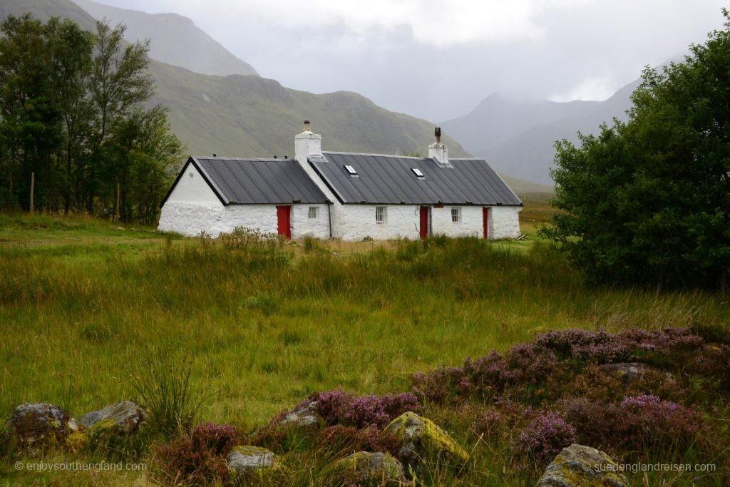 angeblich eines der meistfotografierten Häuser im Glencoe (na ja, so viele gibt es nicht...)