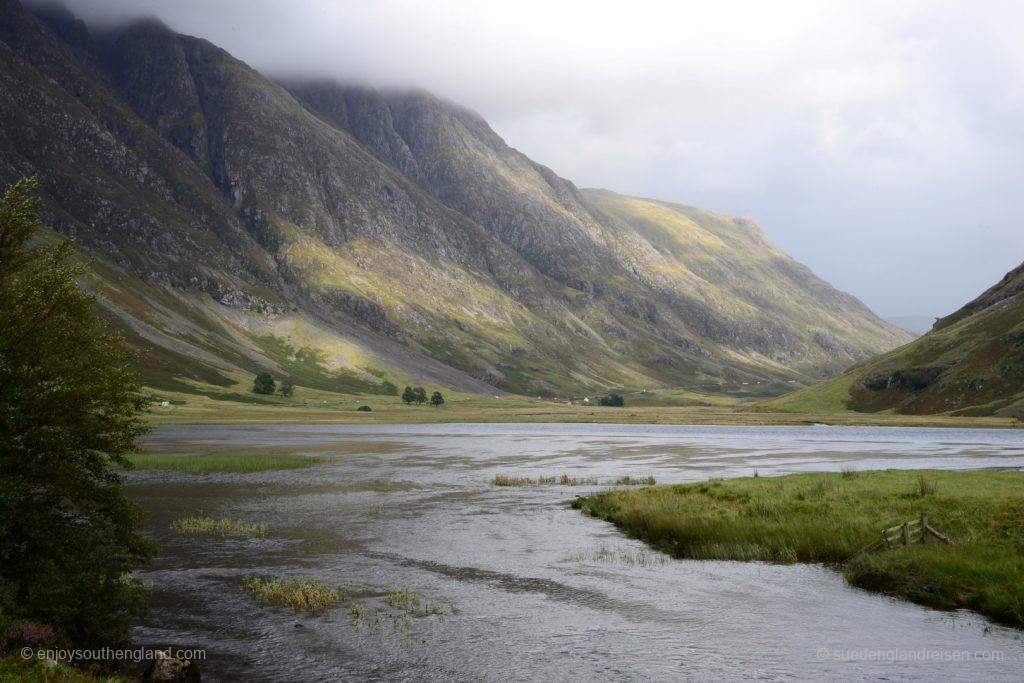 unterwegs durch das Glencoe (Glen = Tal)