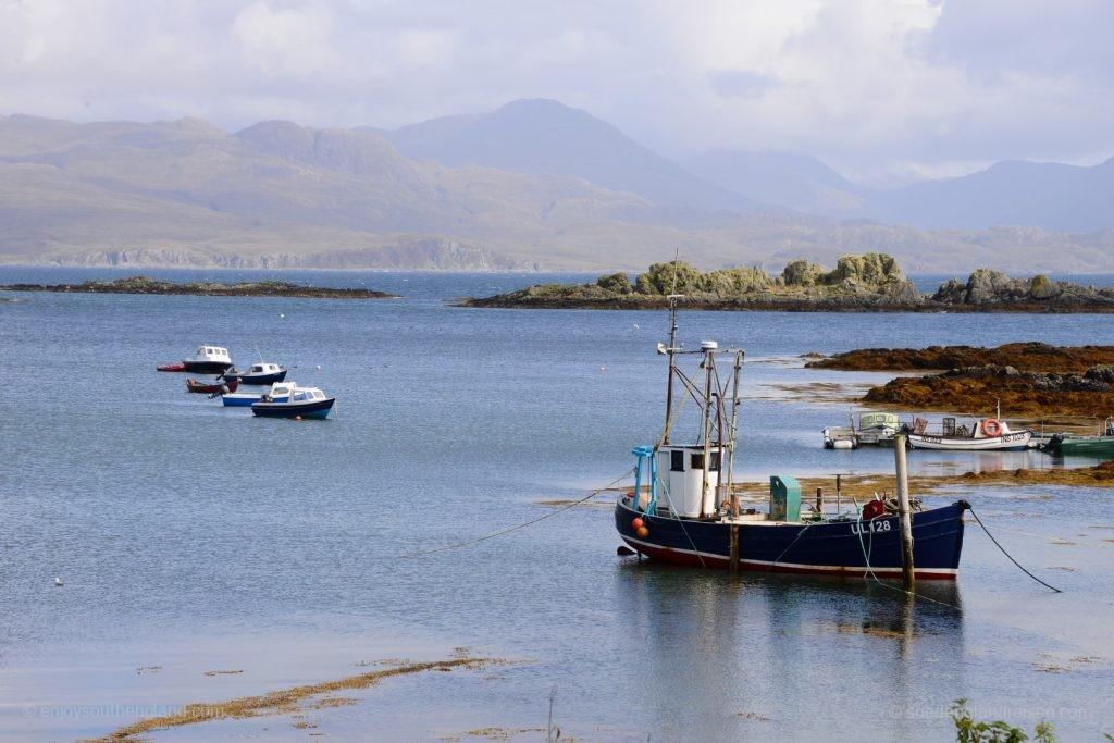 An der Ostküste der Isle of Skye bei Armadale