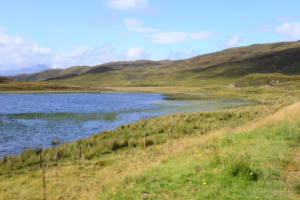 Auf dem Weg in eine für die Isle of Skye ungewöhnlich touristenarme Gegend.