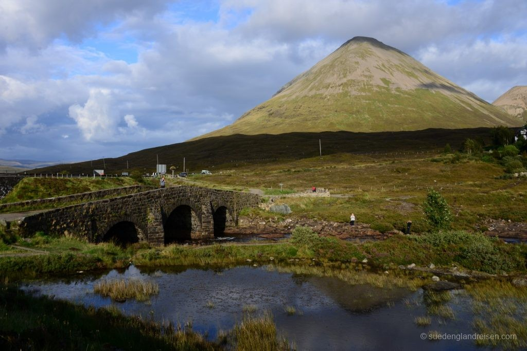 an der Sligachan Old Bridge