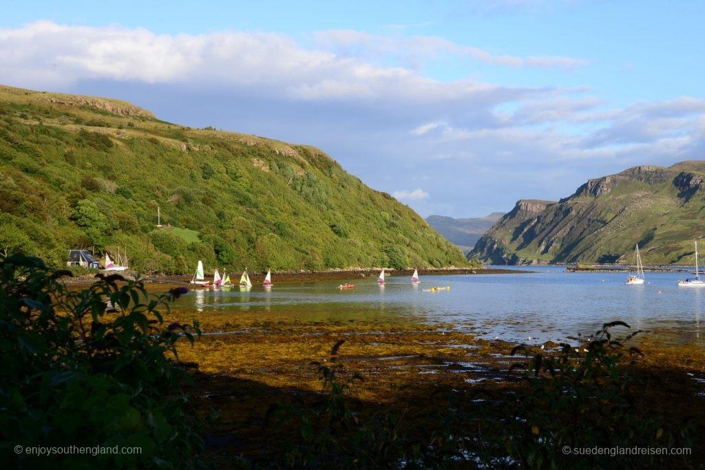 bei Portree auf der Isle of Skye