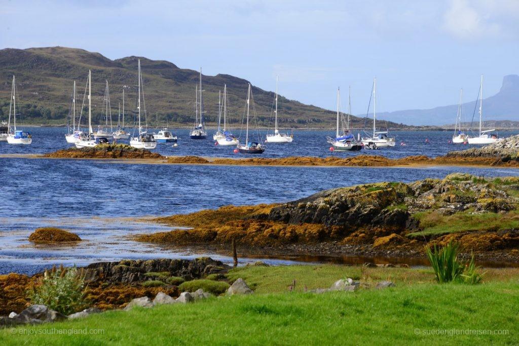 Das sind die Farben Schottlands, wenn nach dem Regen die Sonne durchkommt!