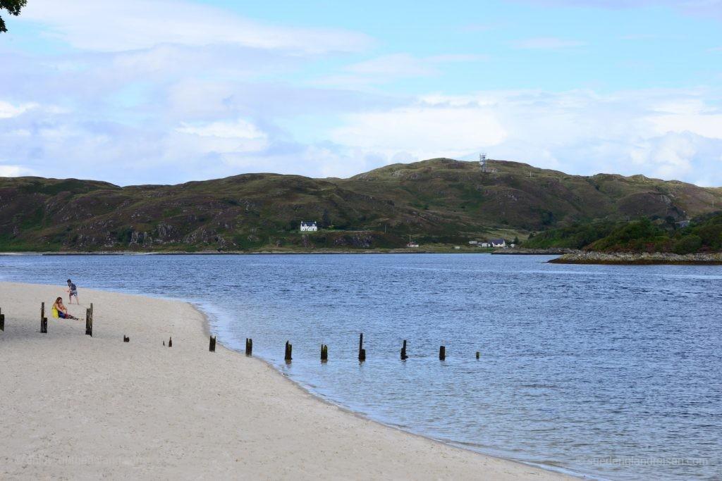"""Würde man solche """"überfüllten"""" Strände mit weißem Sand in Schottland vermuten?"""