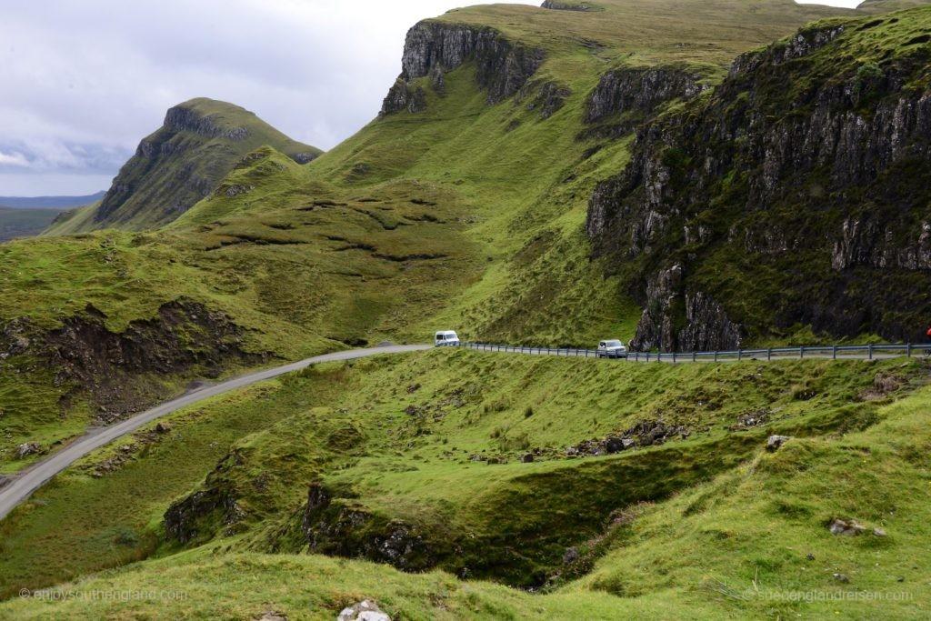 Paßstraße nach Uig auf der Isle of Skye