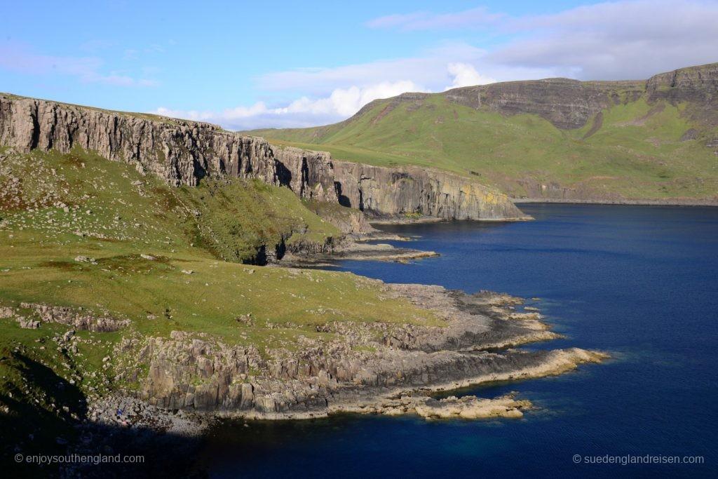 Phantastische Buchten hier auf der Westseite der Isle of Skye
