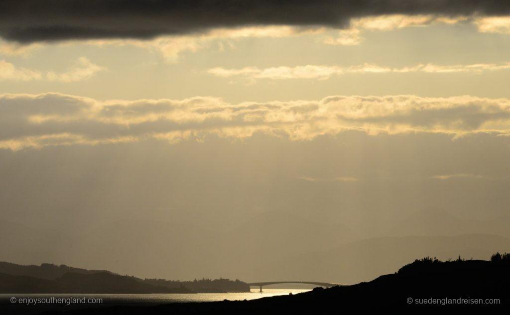 Die Skye Bridge in ganz speziellem Licht