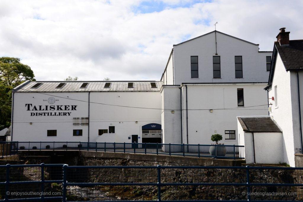 Die bekannte Talisker Distillery