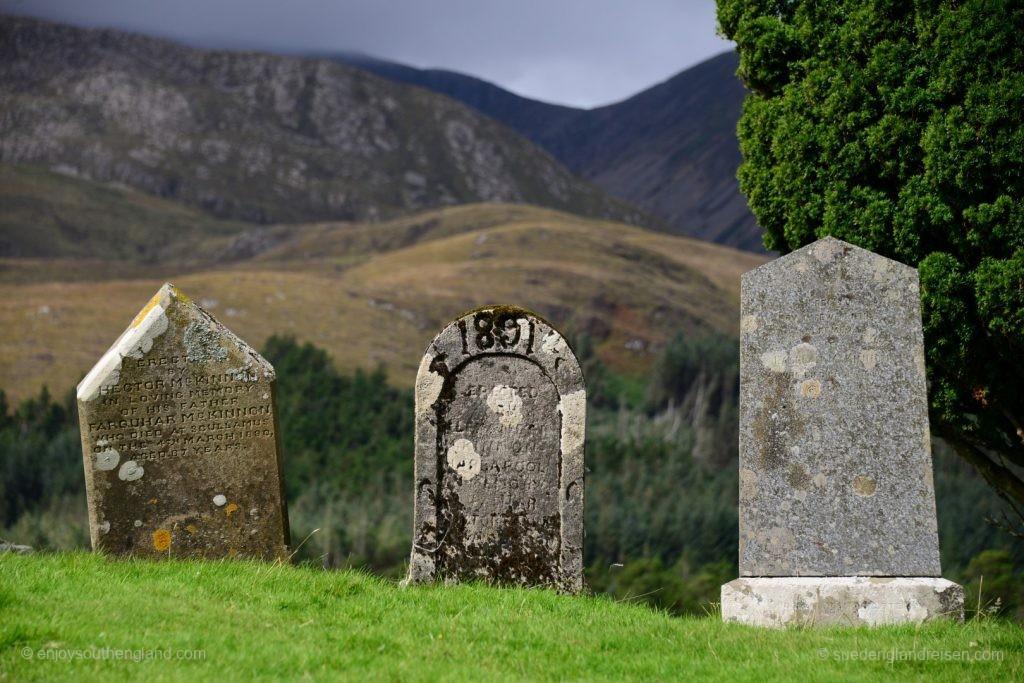 abgelegener Friedhof auf der Isle of Skye
