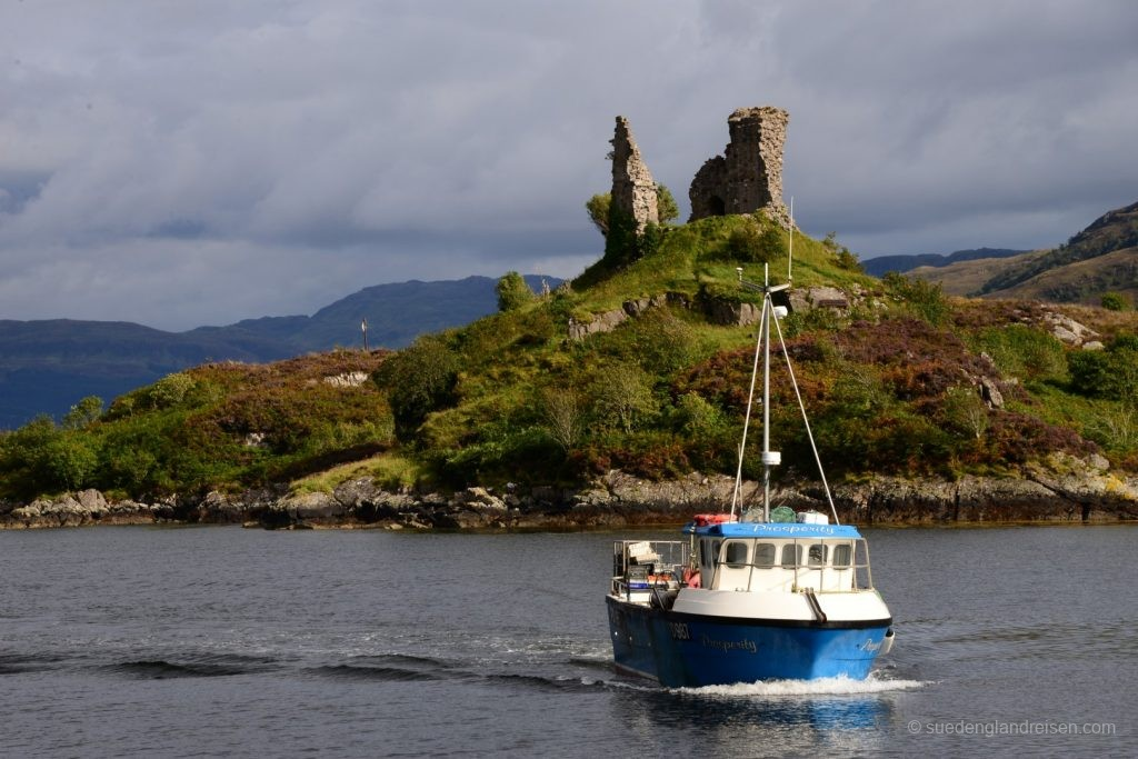 Kyleakin auf der Isle of Skye