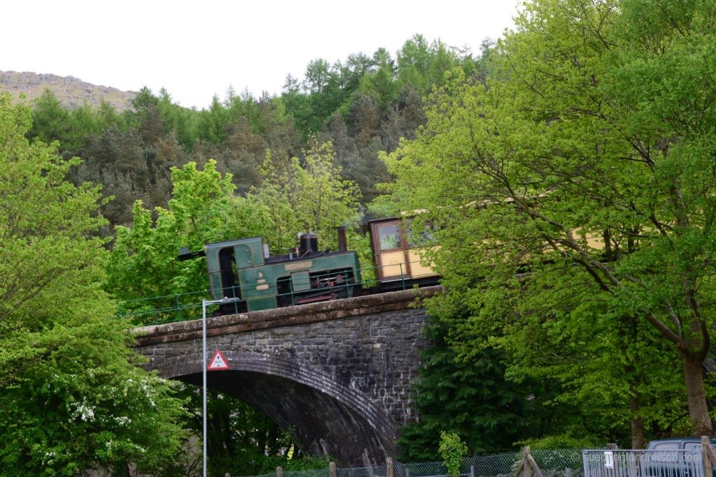 Mit der Snowdon Mountain Railway auf den Mount Snowden