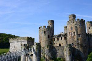 Die Burg von Conwy