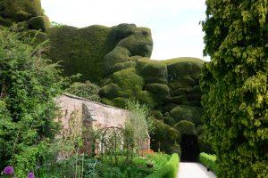 Die Hecken von Powis Castle