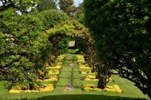 Der Garten von Powis Castle