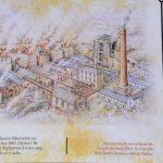 So muß es ausgesehen haben, als die Blaenavon Ironworks noch in vollem Betrieb standen.