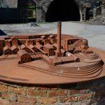 Ein Modell der Blaenavon Ironworks