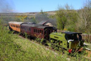 Die Blaenavon-Steam-Railway hat ihren Ausgangspunkt beim Big Pit