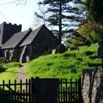 Die Kirche von Cwmyoy
