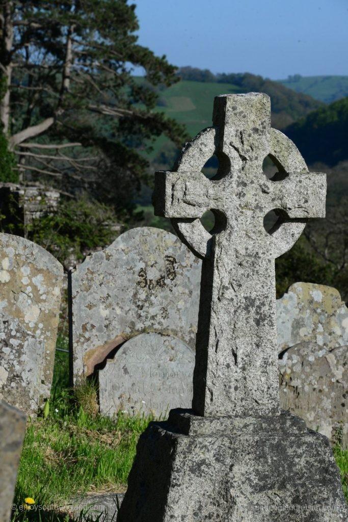 Am Friedhof von Cwmyoy