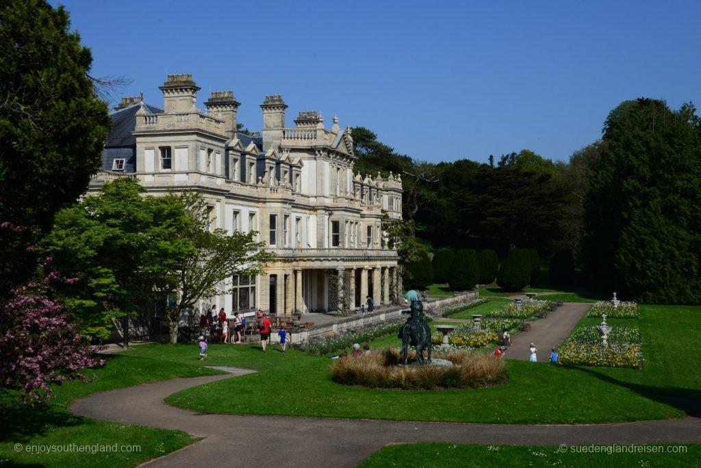 Herrenhaus im Dyffryn-Gardens