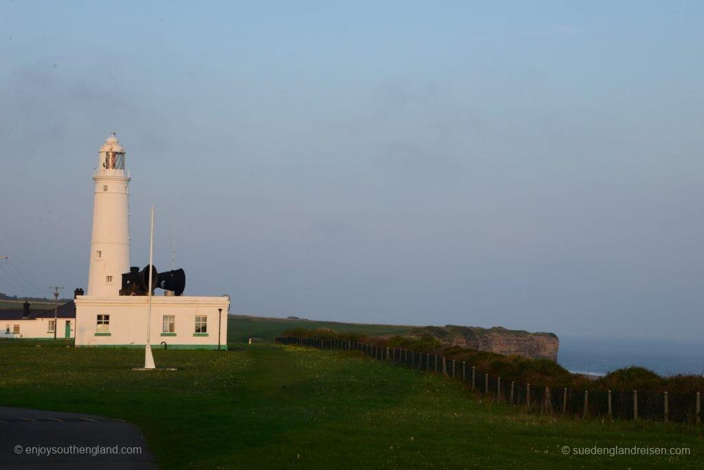 Nashpoint Lighthouse mit seinem mächtigen Nebelhorn