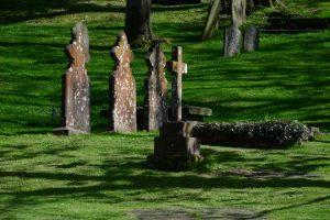 Der Friedhof von St. Davids