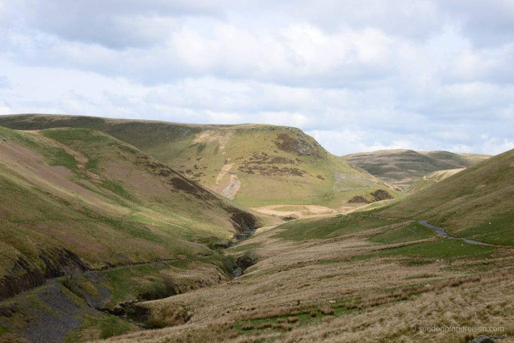 an der Rhayader Mountain Road