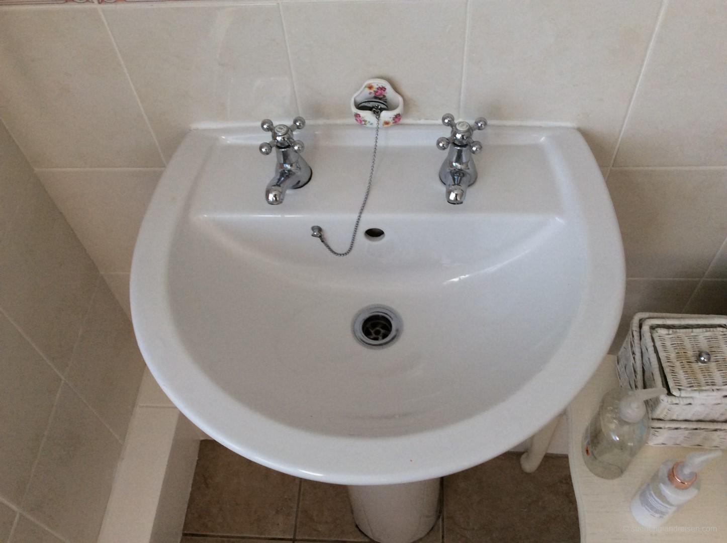 Klassischer Wasserhahn
