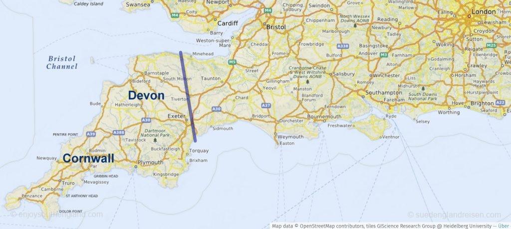 Devon & Cornwall in Südengland