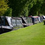Narrow boats and plenty of nature - a perfect symbiosis, if the diesel engines were not.
